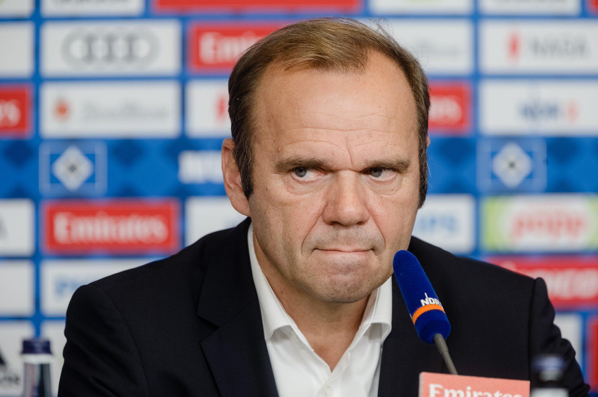 Bild zu Bernd Hoffmann, Hamburger SV, Vorstand, Vorstandsvorsitzender