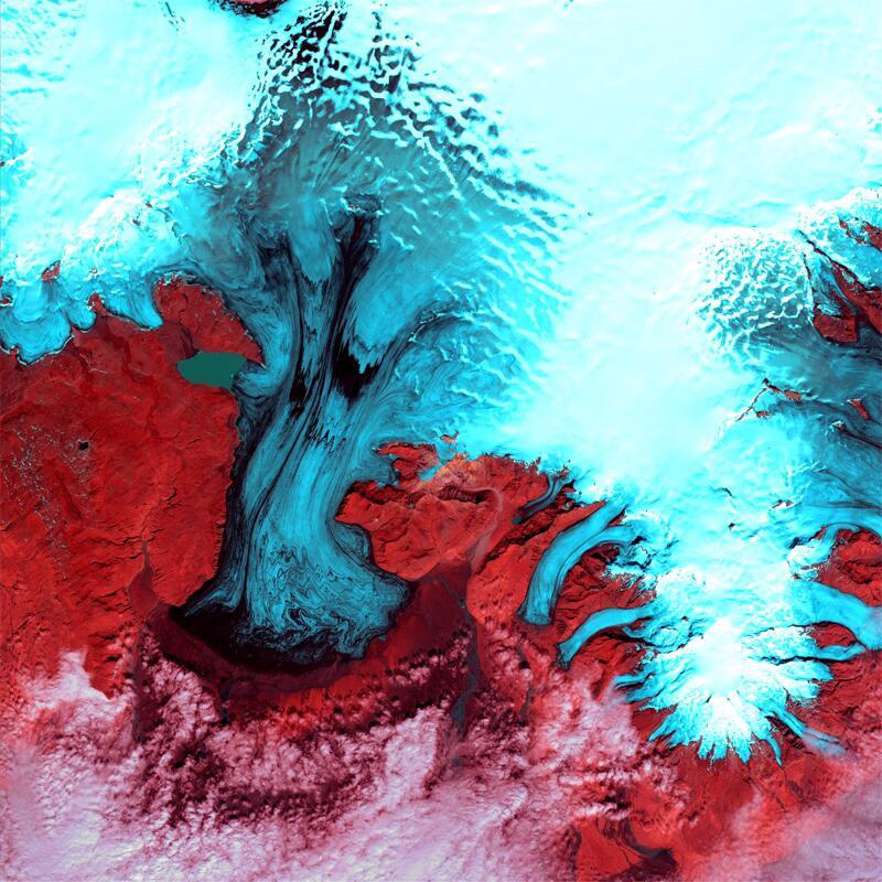 Bild zu Vatnajökull-Gletscher