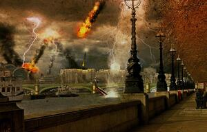 London wird zerstört