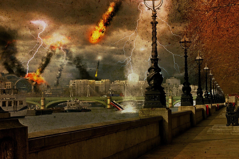 Bild zu London wird zerstört