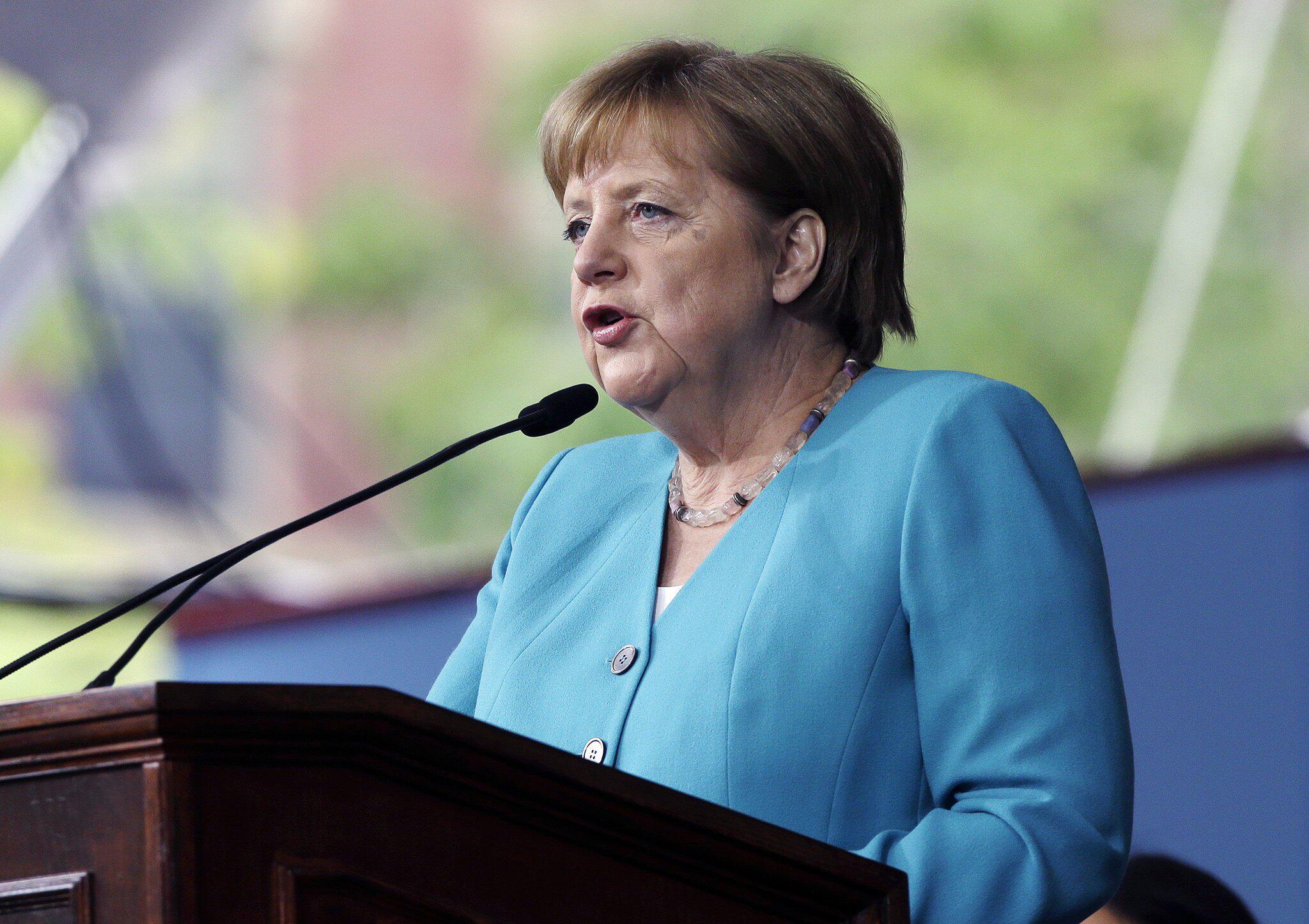 Bild zu Merkel Ehrengast der Universität Harvard in Cambridge