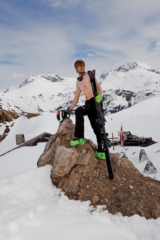 Gipfelstürmer: Der Gipfel - oder zumindest ein Teil davon - ist ...