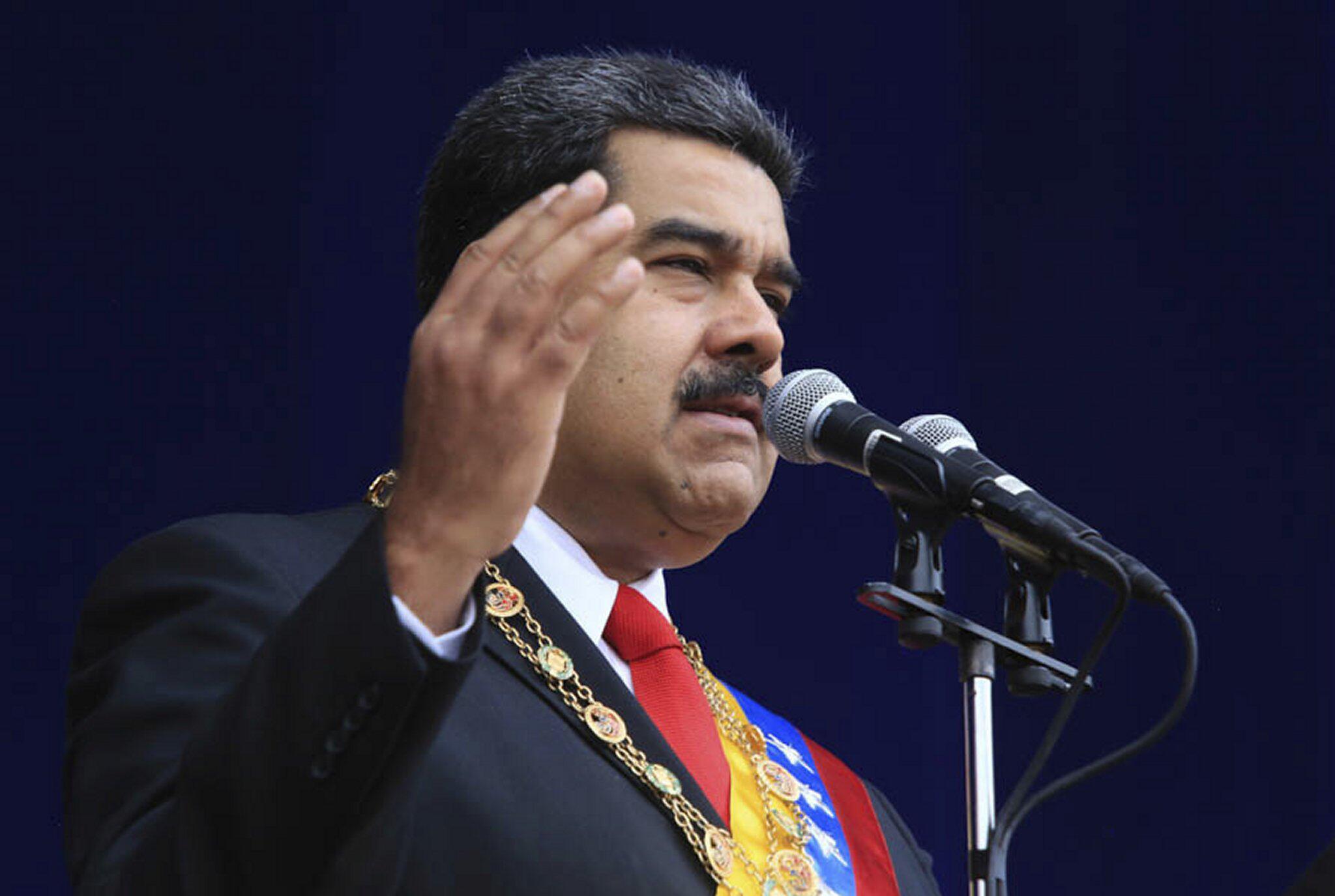 Bild zu Anschlag gegen Nicolas Maduro
