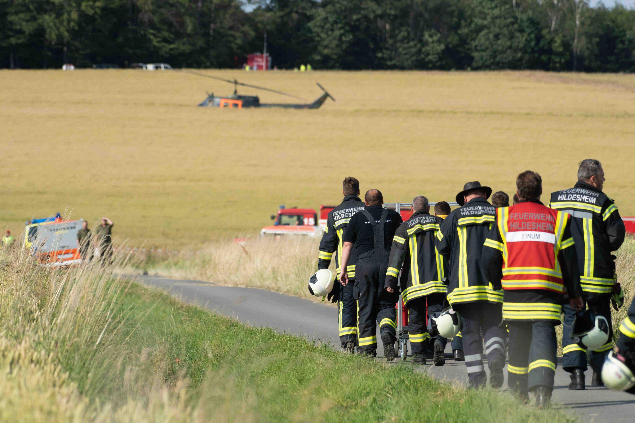 Bild zu Schulungshubschrauber der Bundeswehr abgestürzt