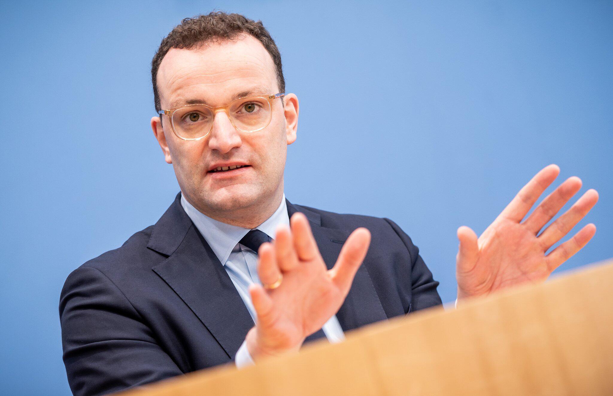 Bild zu Coronavirus - Pressekonferenz Gesundheitsminister