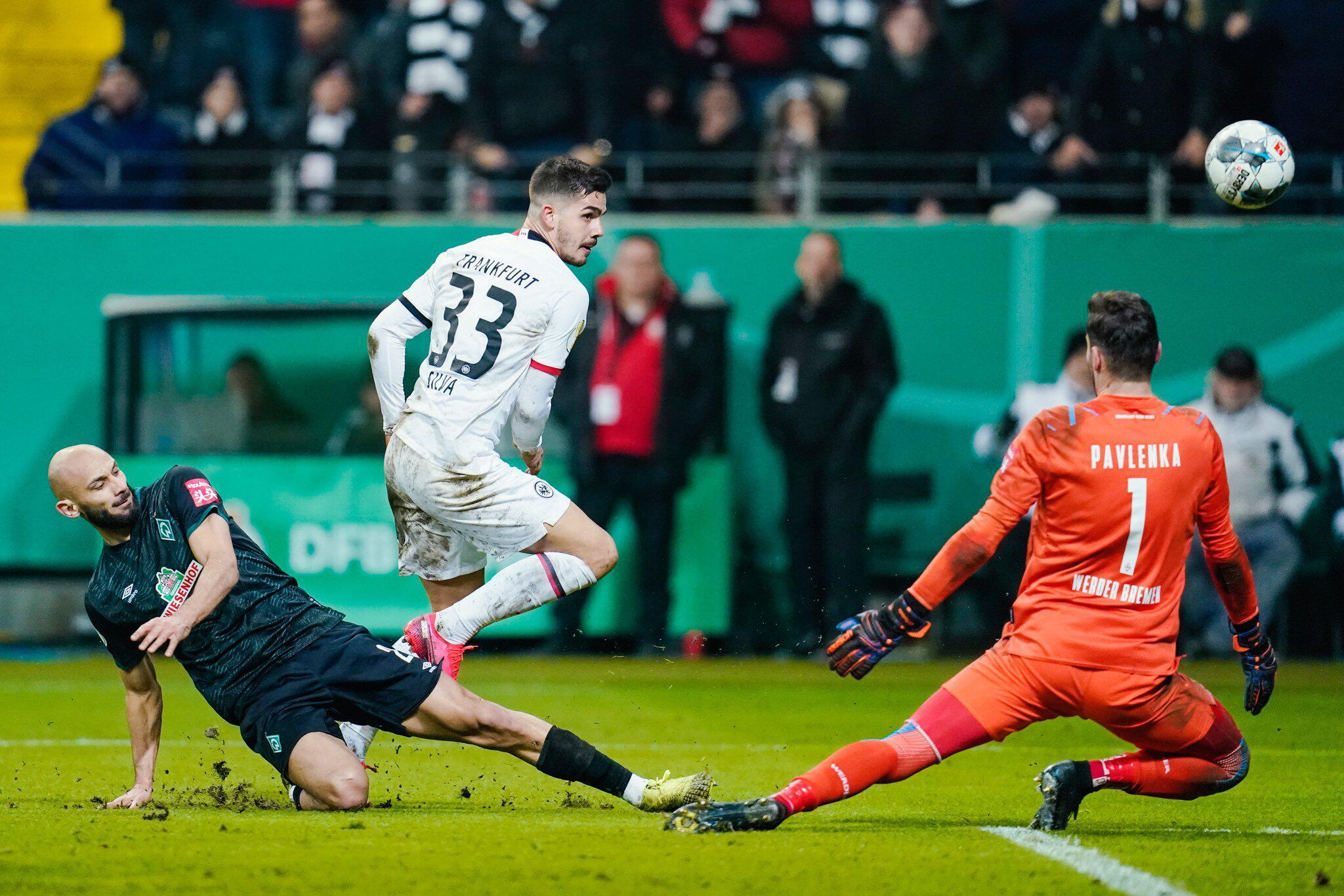 Bild zu Eintracht Frankfurt - Werder Bremen