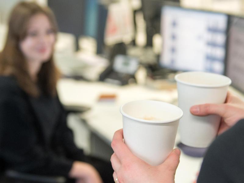 Bild zu Kaffee als Zeichen der Harmonie
