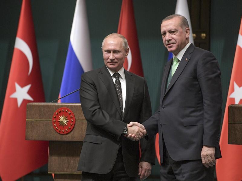 Bild zu Erdogan trifft Putin
