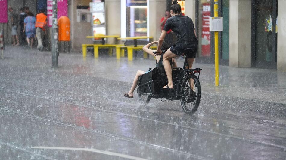 Starkregen in Berlin