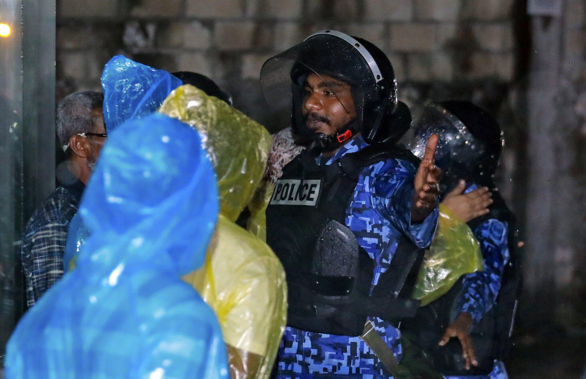 Bild zu Ausnahmezustand auf Malediven