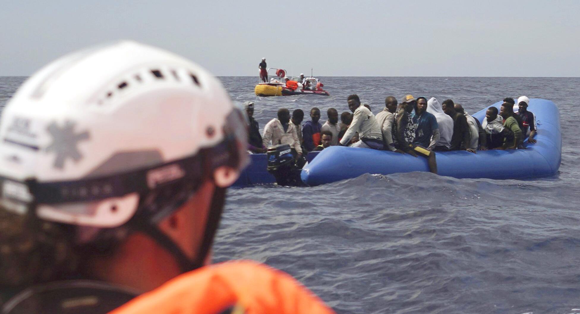 """Bild zu Rettungsschiff """"Ocean Viking"""" in Einsatz"""