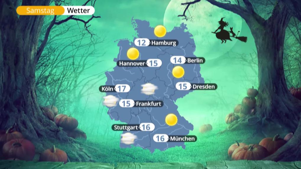 Bild zu Halloween Wetter