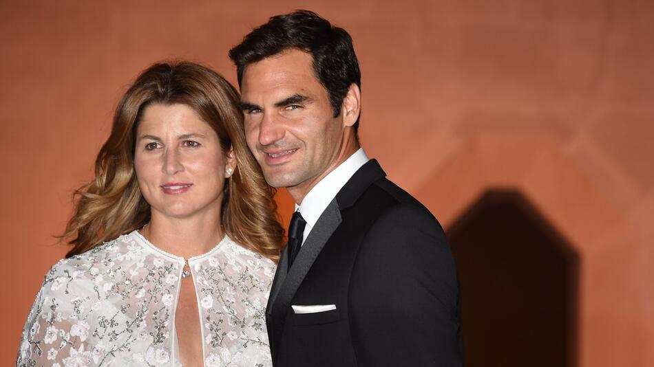 Roger Federer, Mirka Federer, Tennis Wimbledon - Champions Dinner