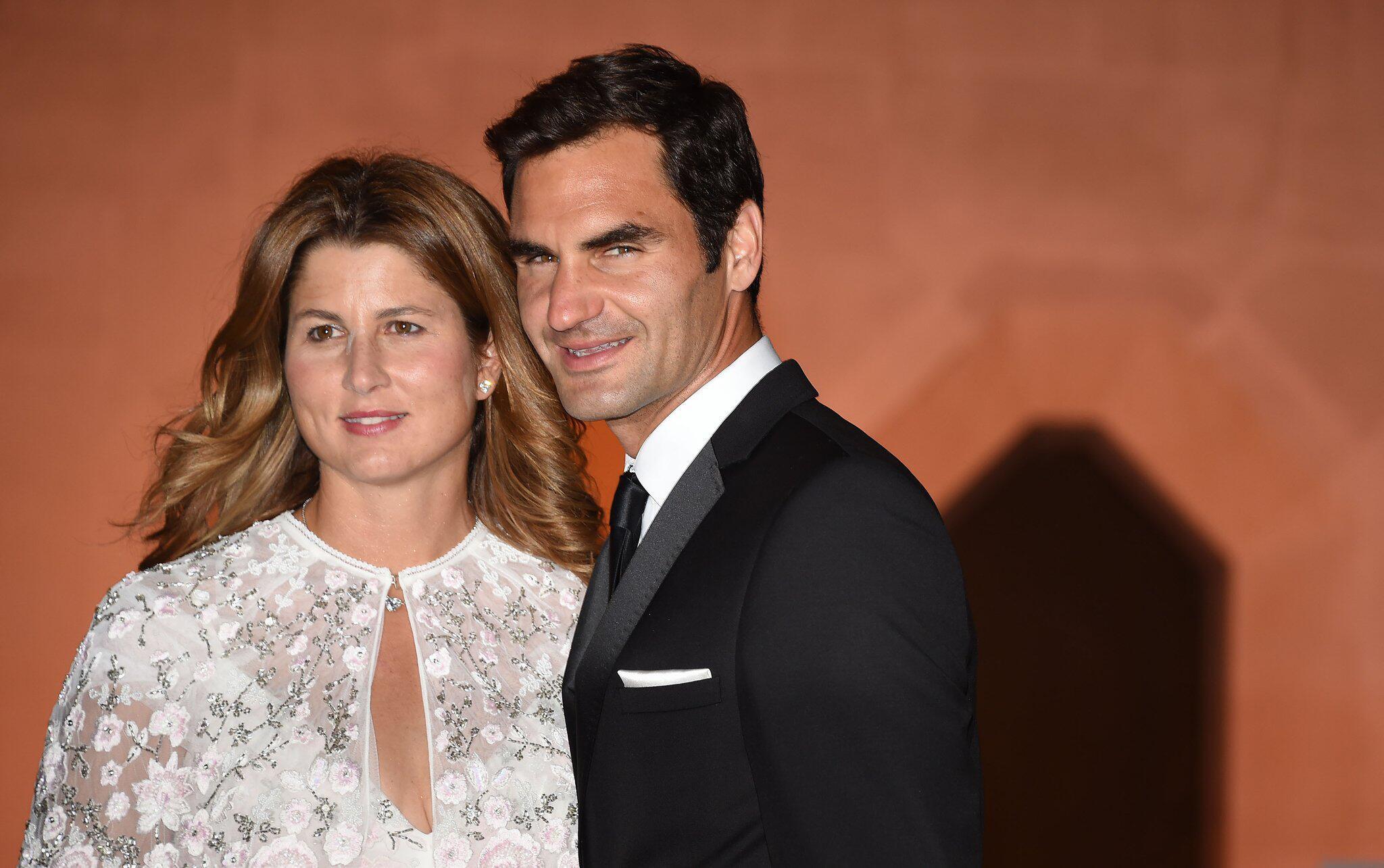 Bild zu Roger Federer, Mirka Federer, Tennis Wimbledon - Champions Dinner