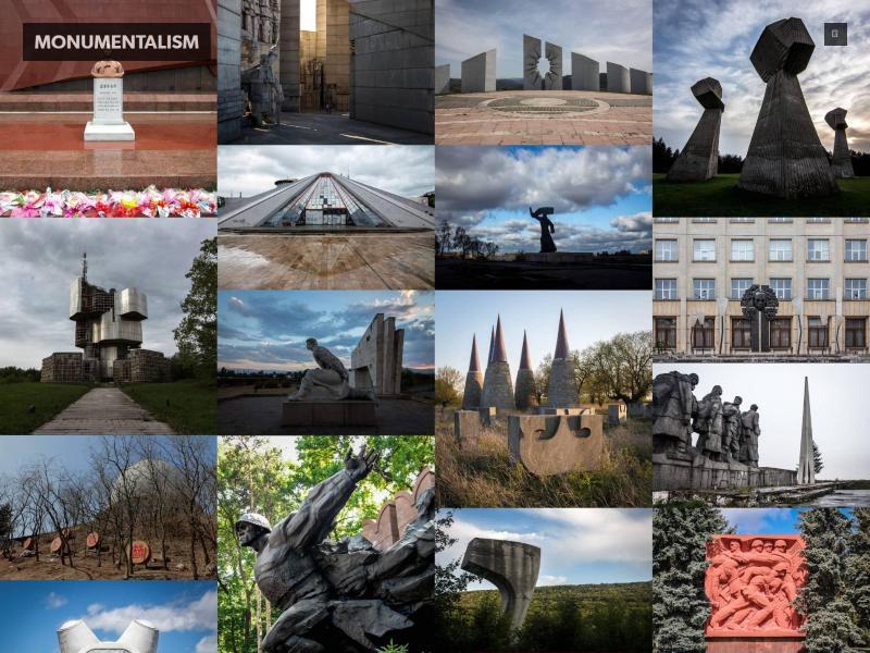 Bild zu monumentalism.net