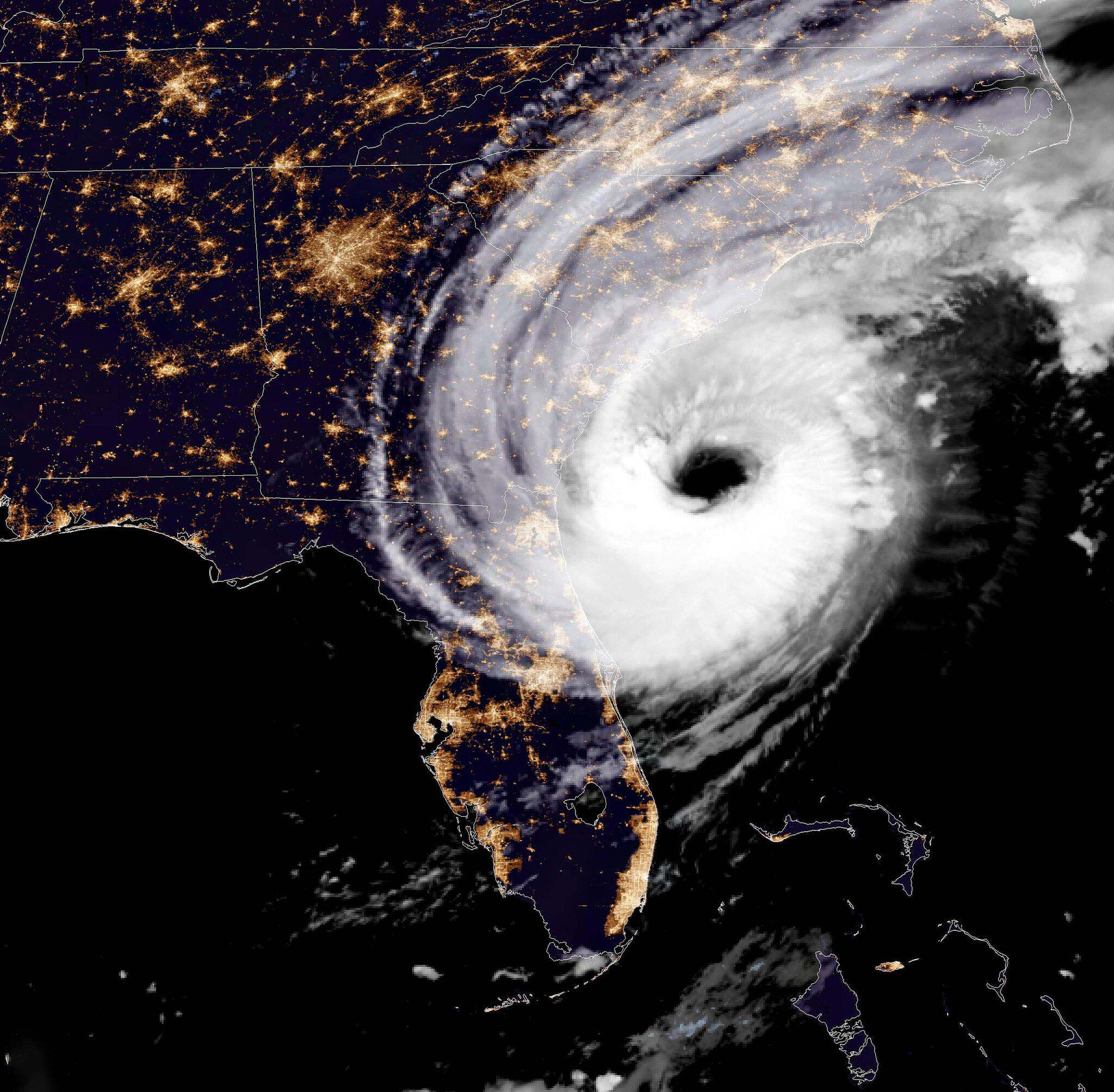 Bild zu Hurrikan «Dorian»