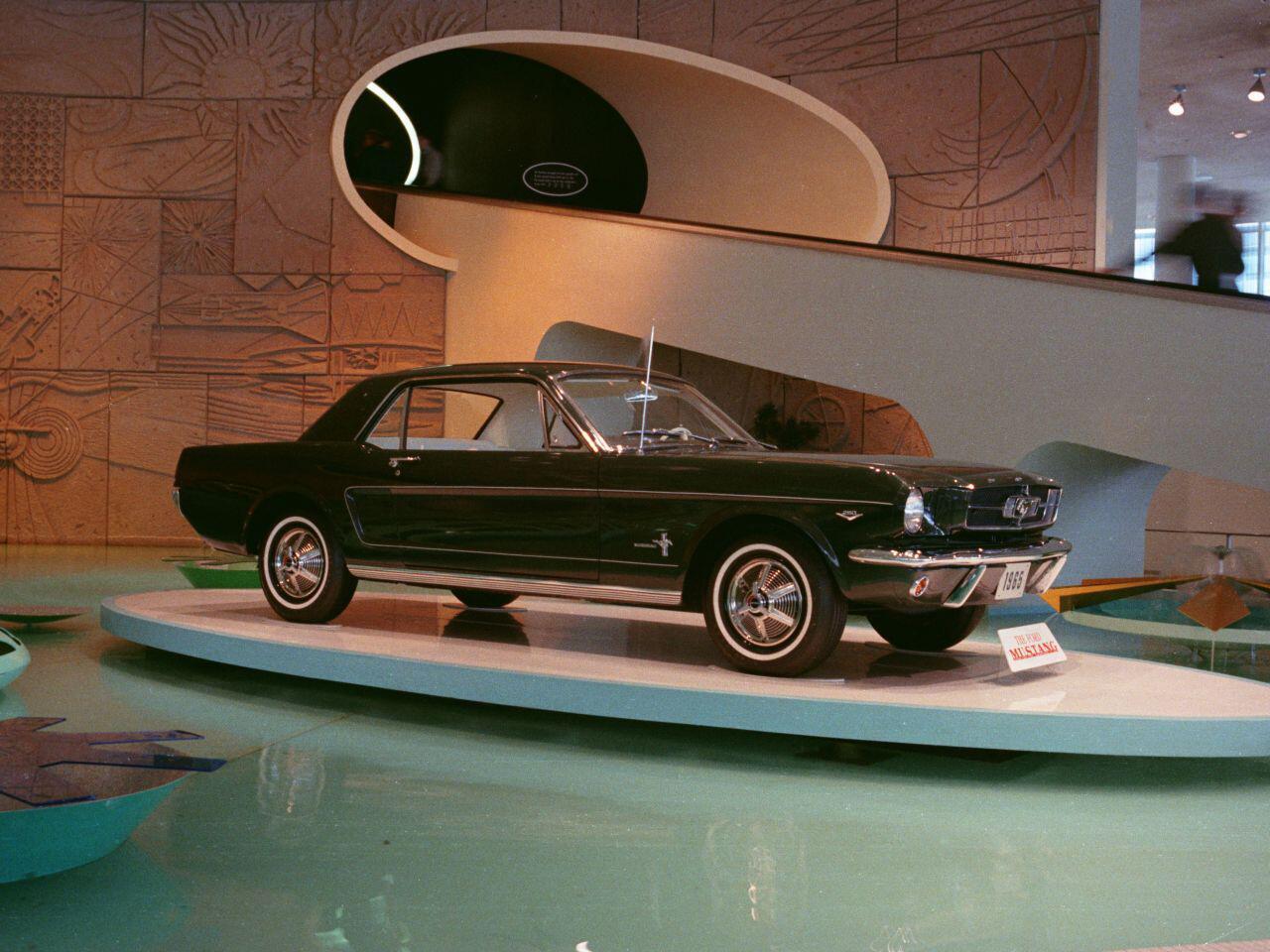 Bild zu 50 Jahre Ford Mustang: 1964 nahm eine Erfolgsgeschichte ihren Anfang