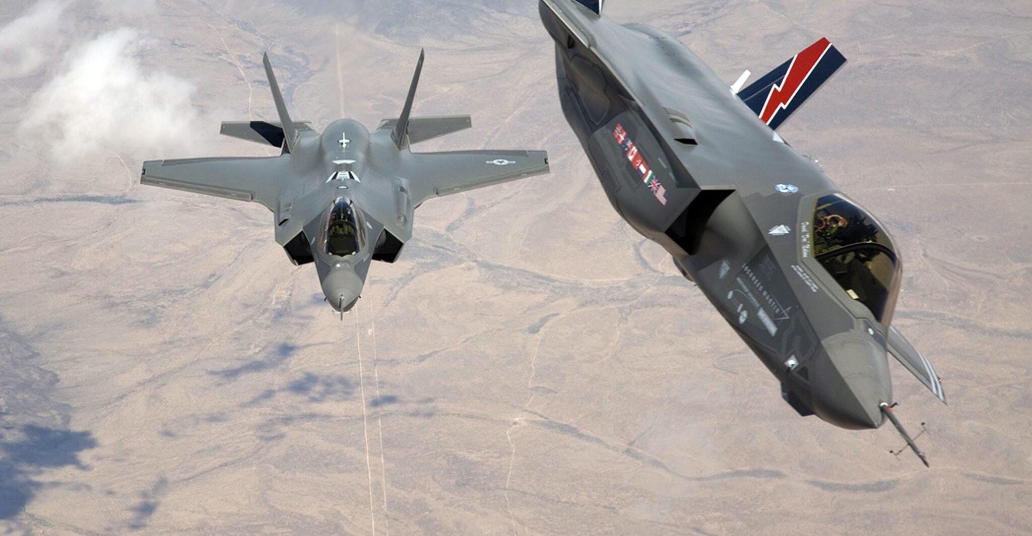 Bild zu F-35 Kampfflugzeuge
