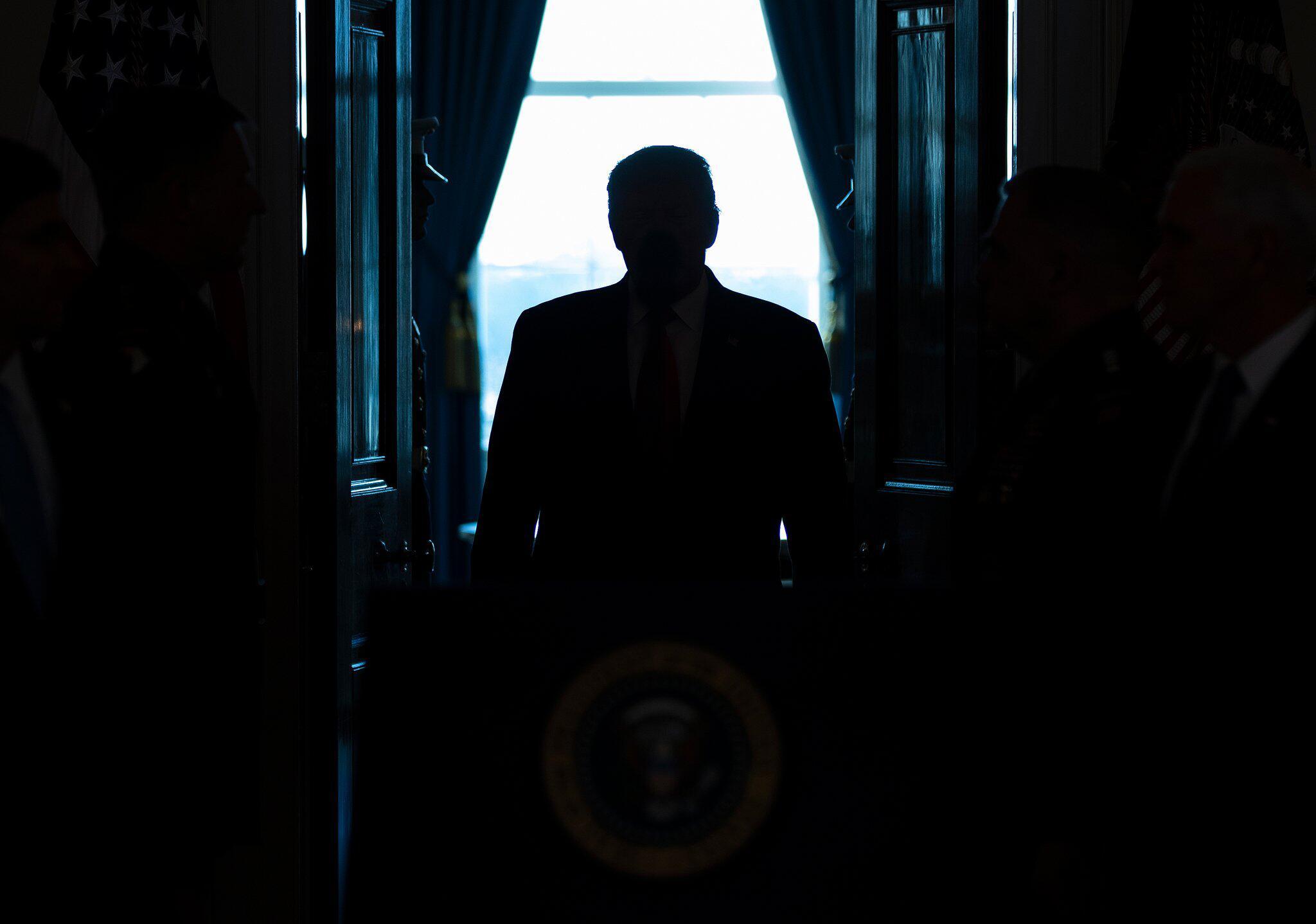 Bild zu Trump äussert sich zu Irans Angriff auf US-Militär