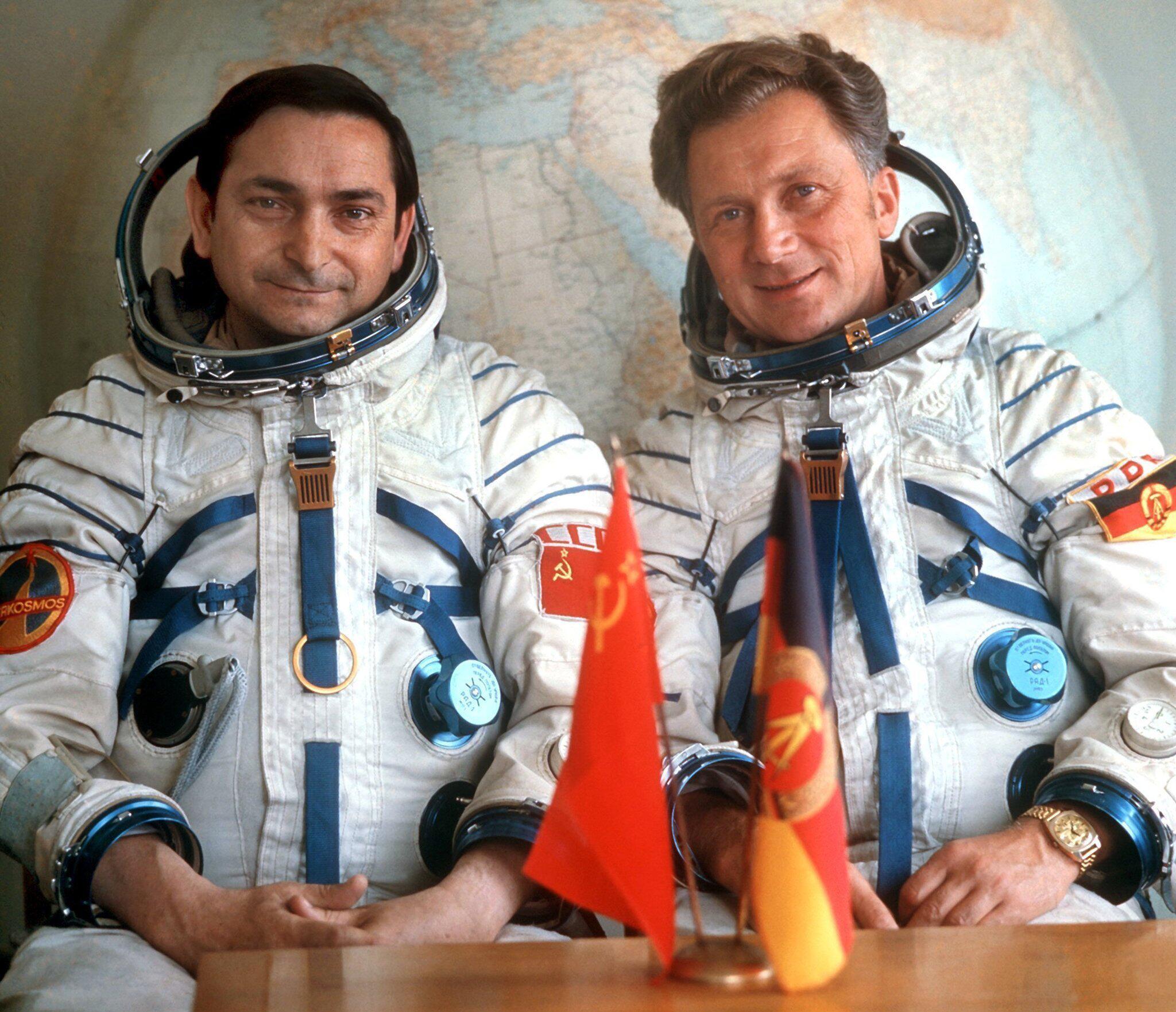 Bild zu Kosmonauten Bykowski und Jähn