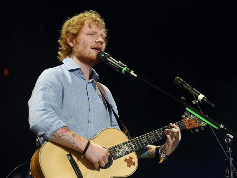 Bild zu Ed Sheeran