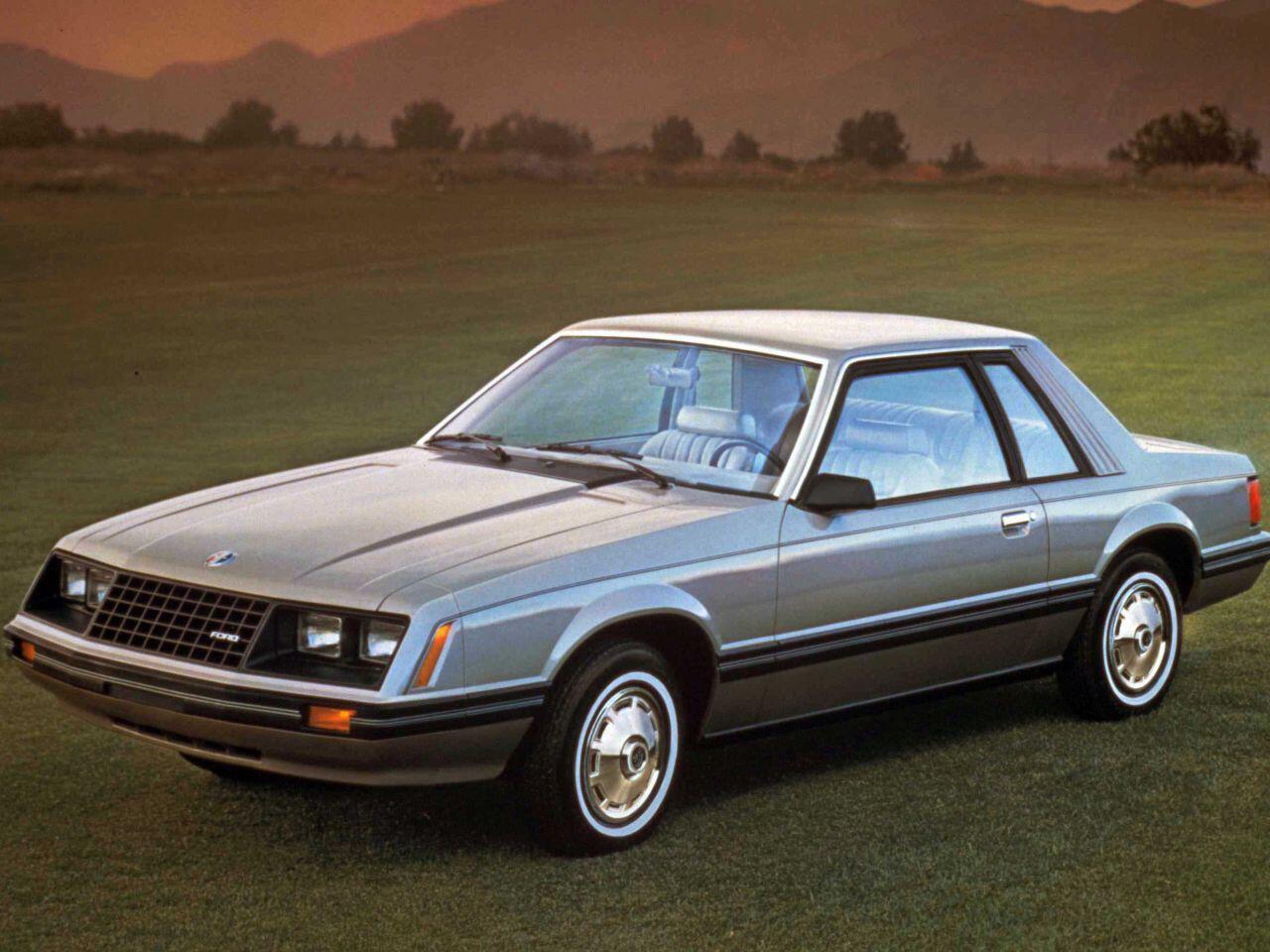 Bild zu Der Ford Mustang III von 1982: Nach Muscle-Car sah dieses Auto nicht gerade aus