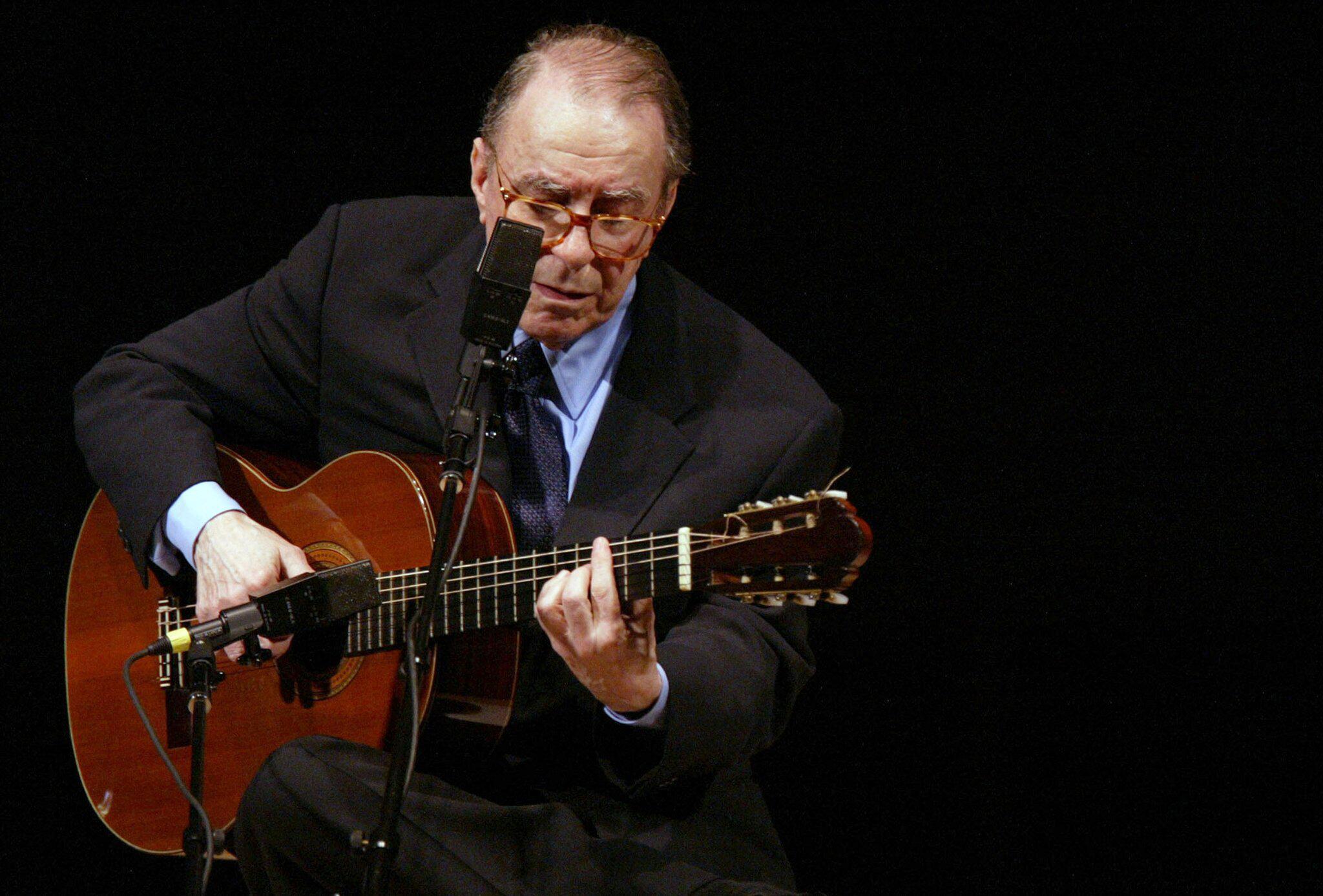 Bild zu Musiklegende João Gilberto gestorben