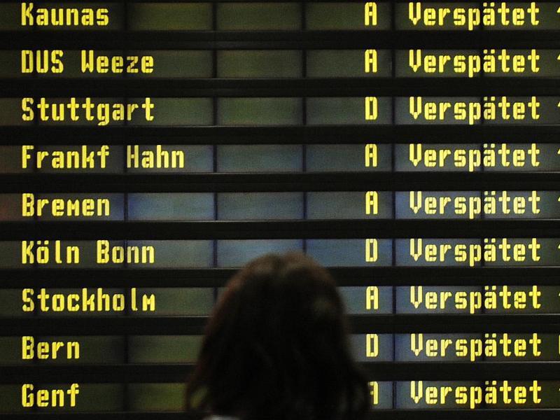 Bild zu Verspätung bei Flügen