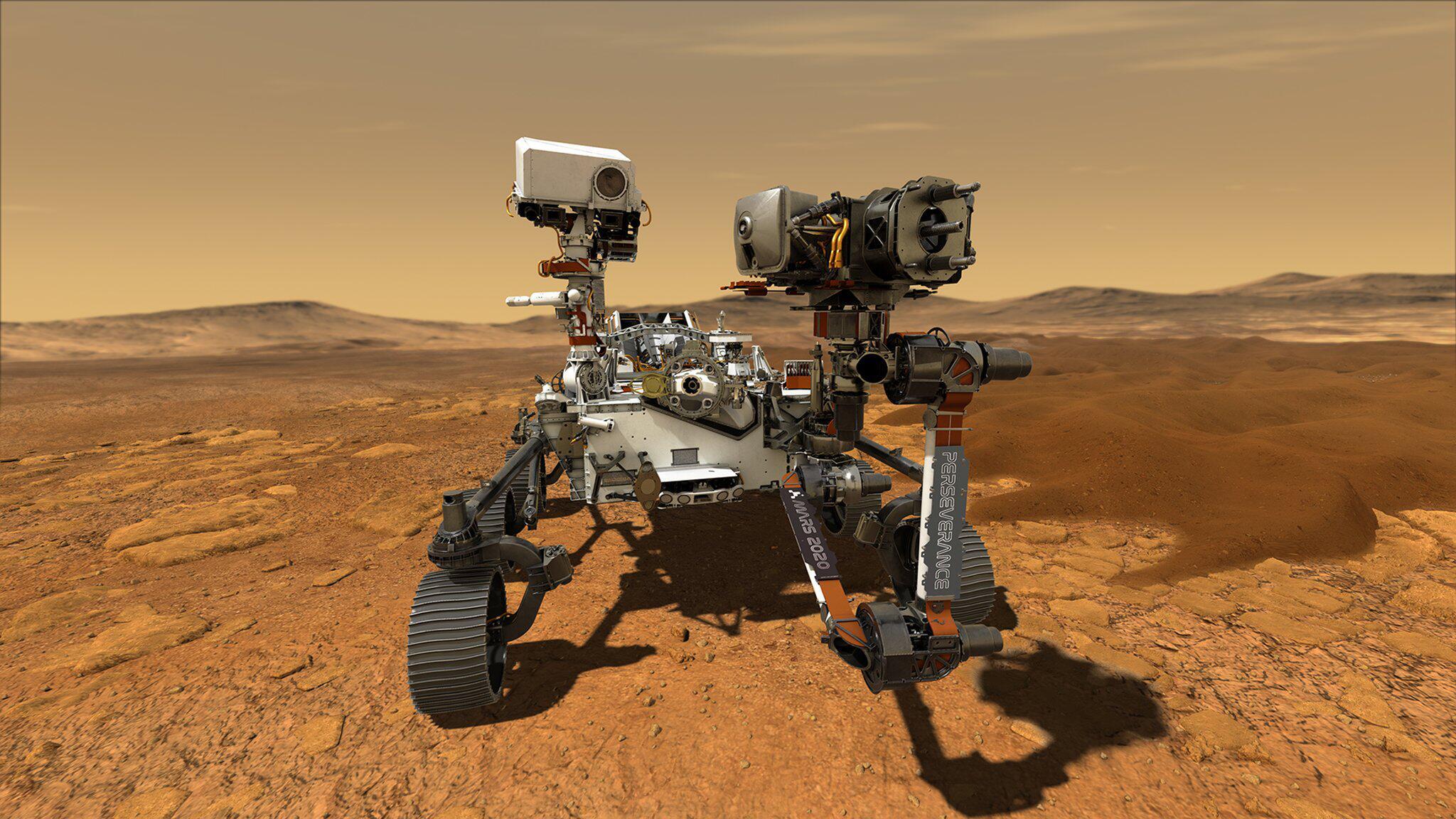 Bild zu Mars-Rover Perseverance