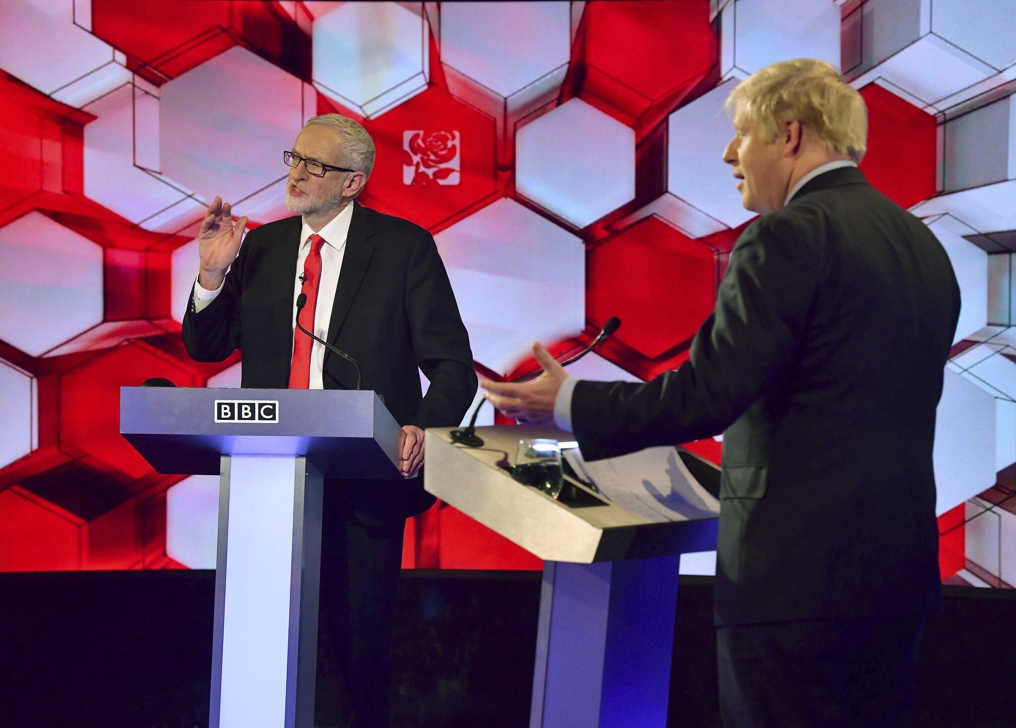 Bild zu Wahlkampf in Grossbritannien - TV Debatte
