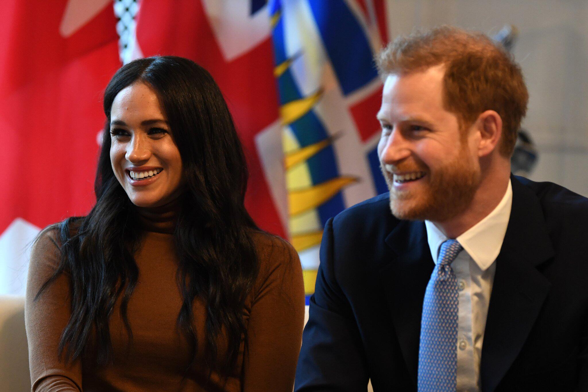 Bild zu Prinz Harry und Herzogin Meghan im Kanada-Haus