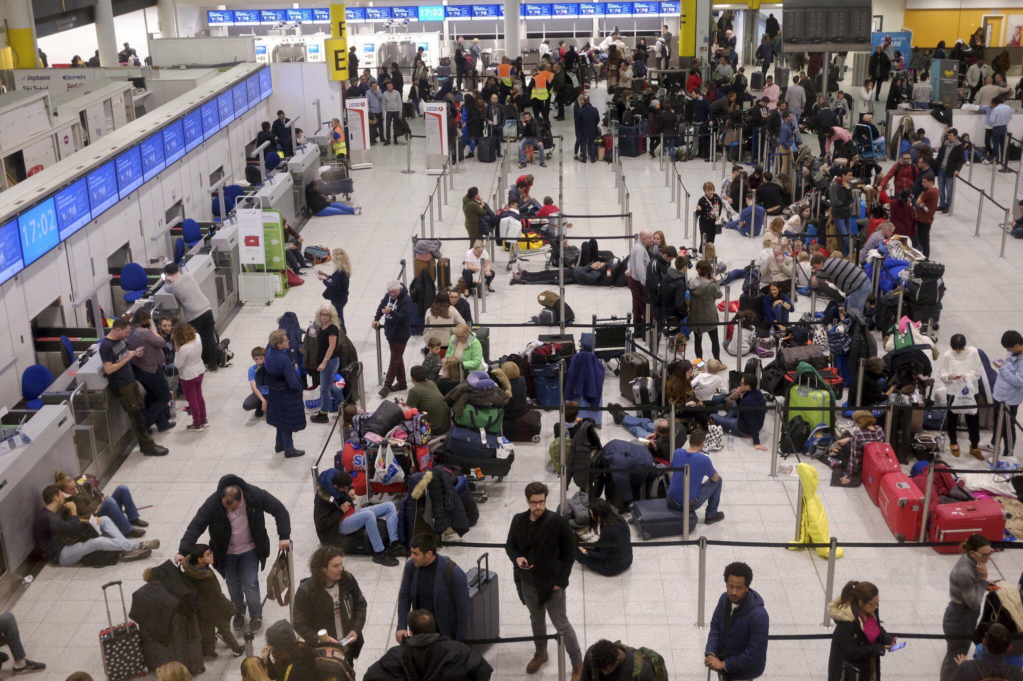 Bild zu Grossflughafen London-Gatwick lahmgelegt