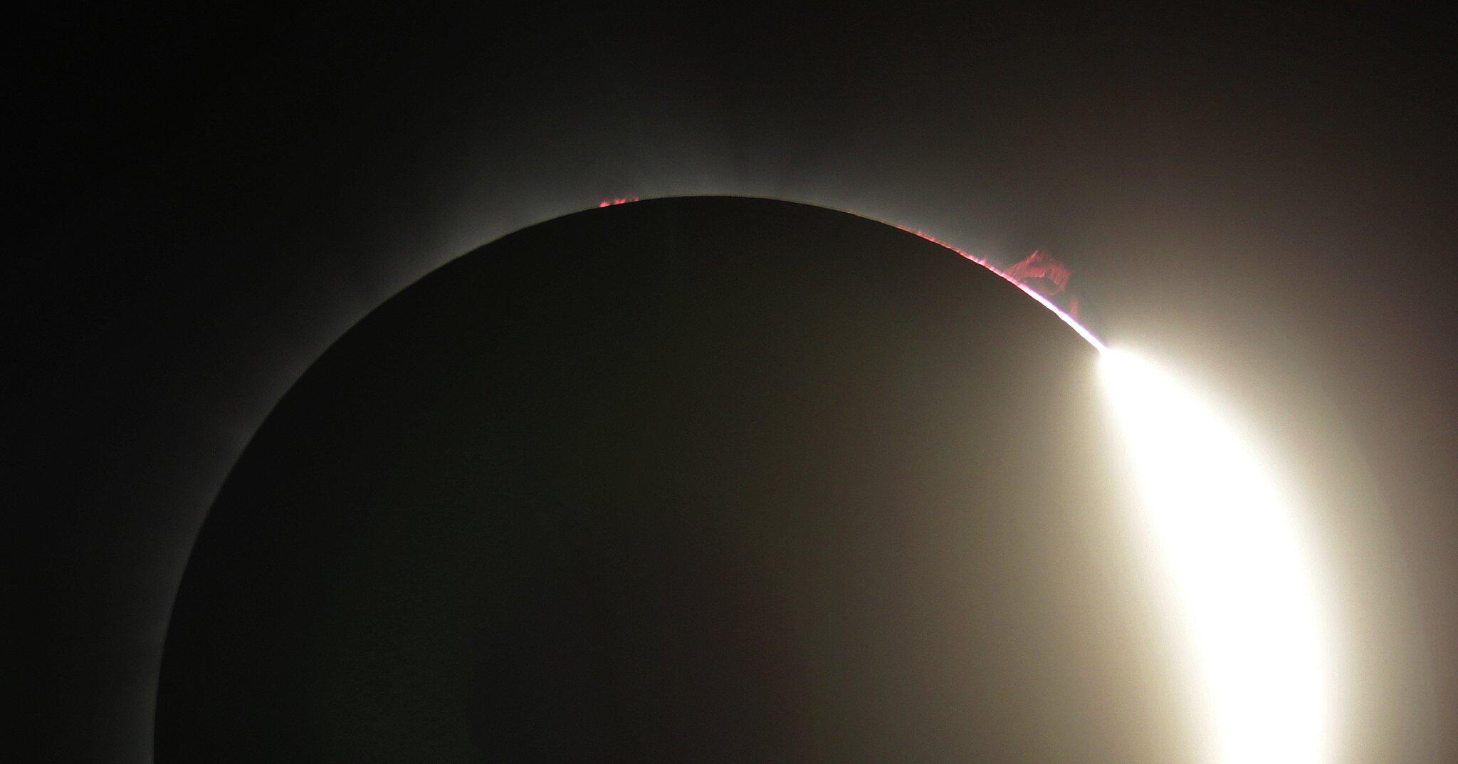 Bild zu Sonnenfinsternis in den USA