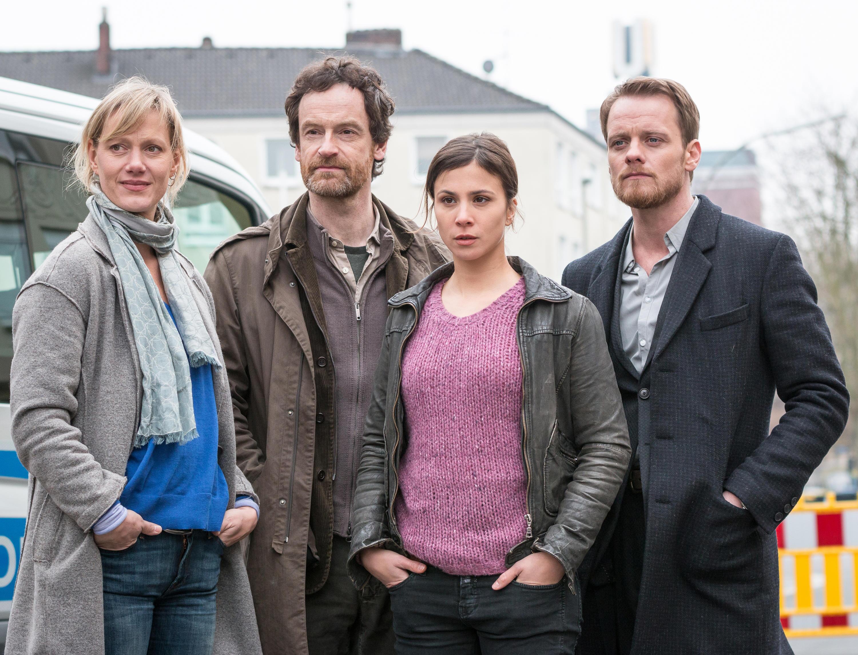 """Bild zu Stefan Konarske (r.) hört beim Dortmunder """"Tatort"""" auf."""