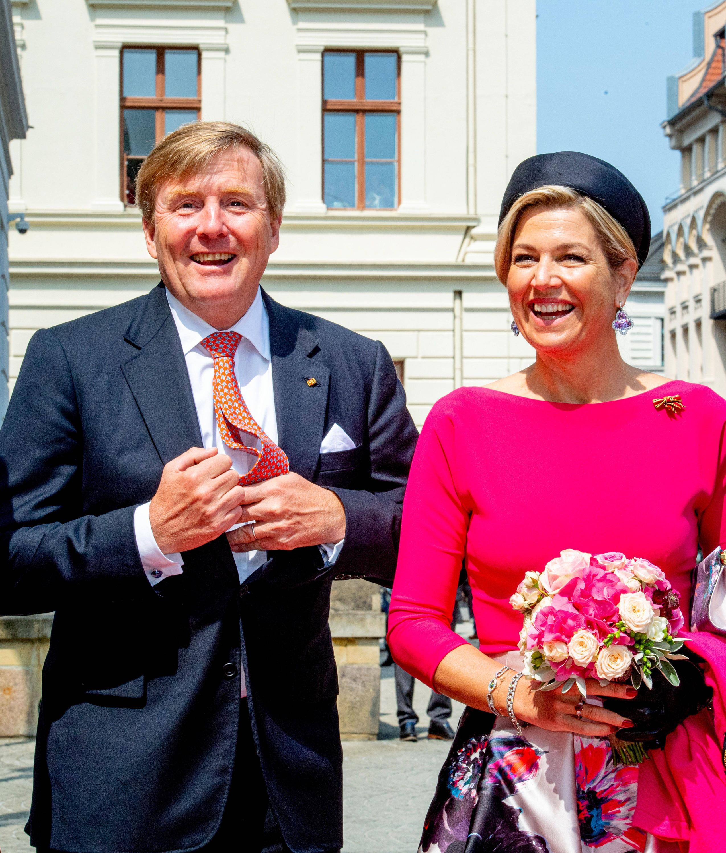 Bild zu Niederländisches Königspaar auf Deutschlandbesuch