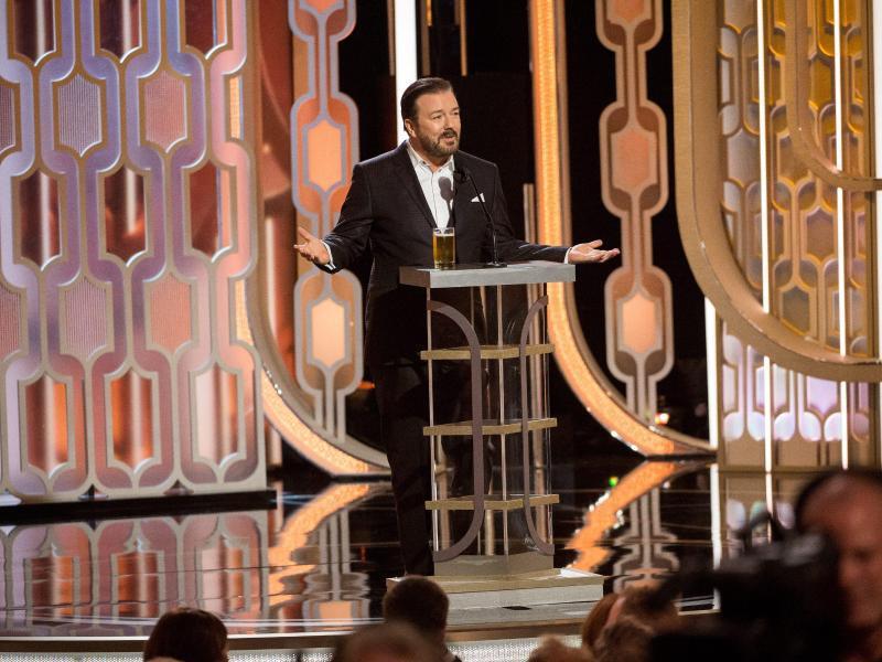 Bild zu Golden Globes - Ricky Gervais