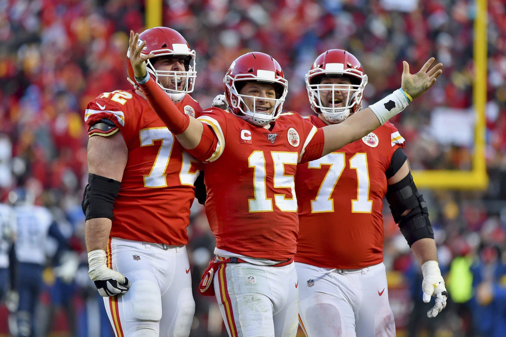 Bild zu Kansas City Chiefs, NFL, Patrick Mahomes