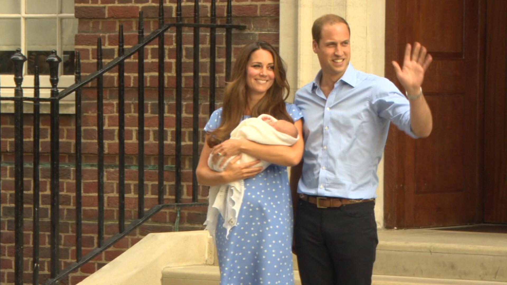 Bild zu Herzogin Kate: Baby Nr.3 soll Hausgeburt werden