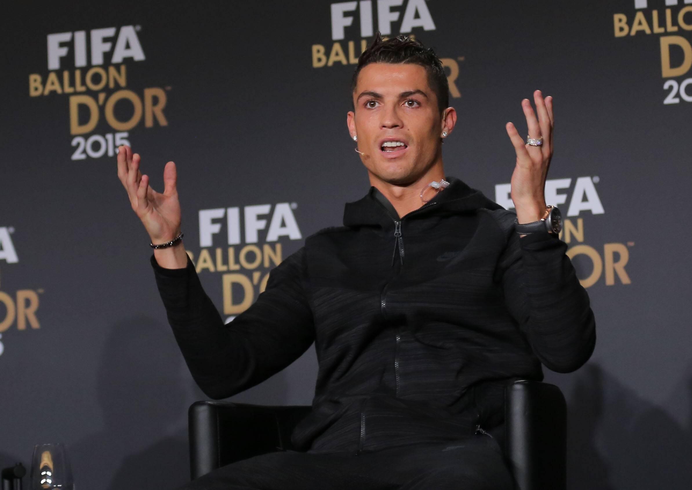 Bild zu Cristiano Ronaldo, FIFA, Weltfussballer
