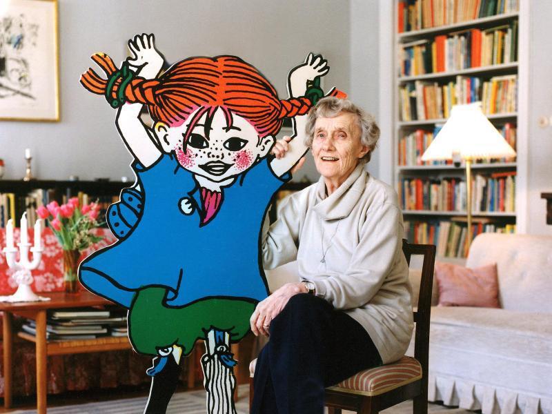 Bild zu Kinderbuchautorin Astrid Lindgren