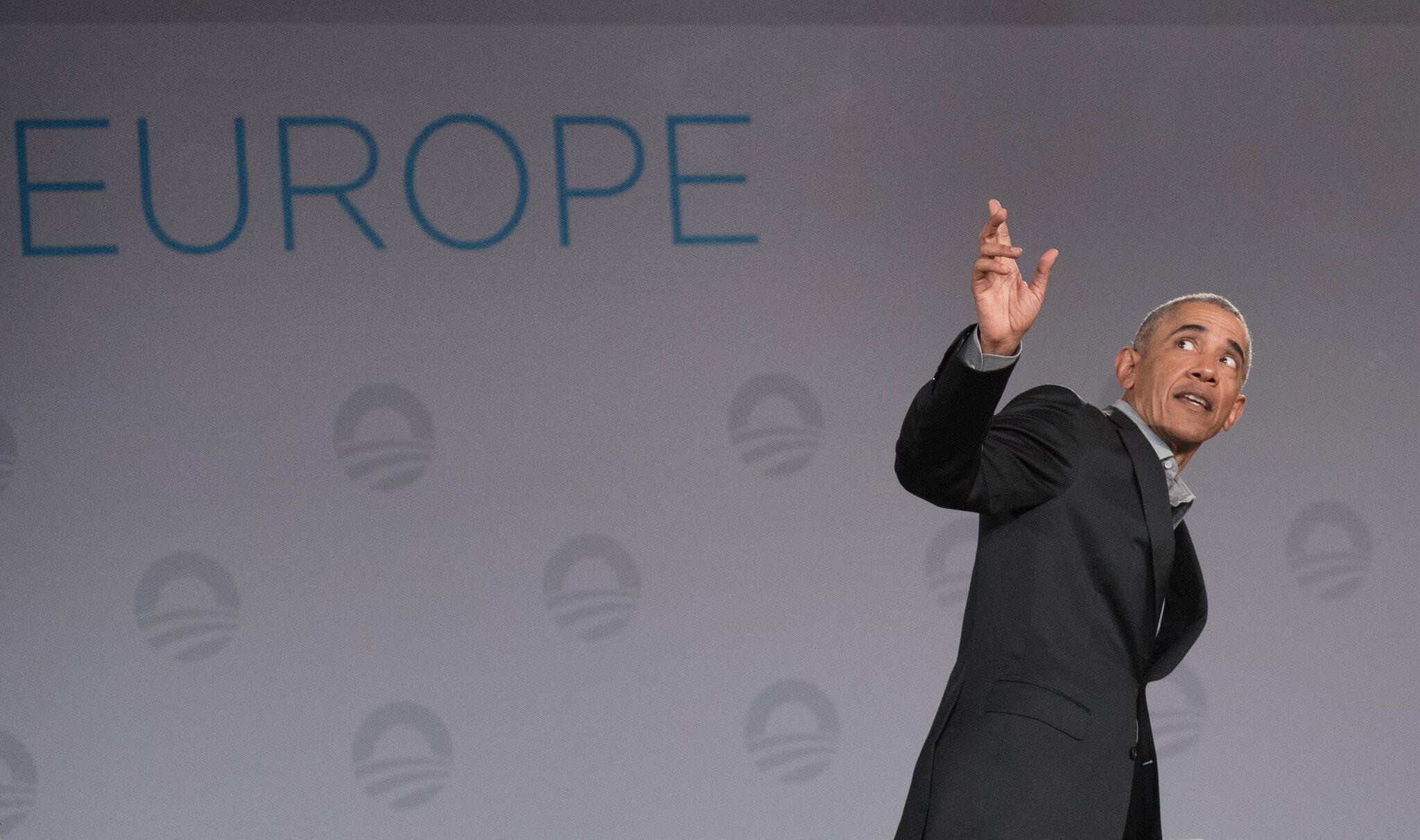 Bild zu Früherer US-Präsident Barack Obama in Berlin