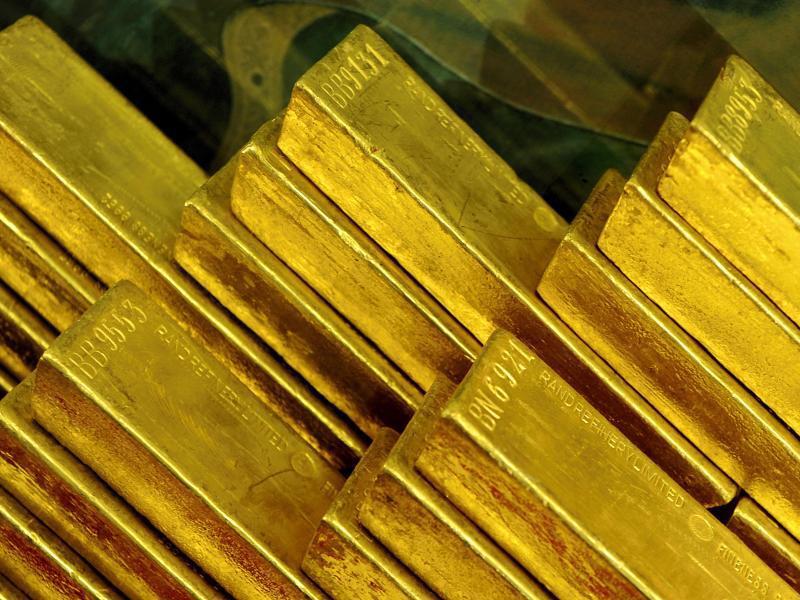 Bild zu Gold-Barren