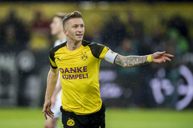 Bild zu Reus, Dortmund, BVB, Bundesliga, Fussball