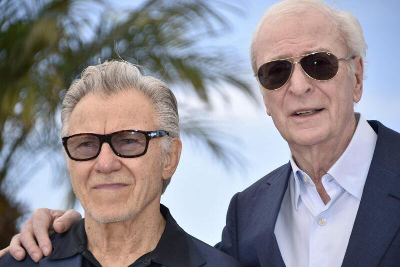 Bild zu Cannes Film Festival - Harvey Keitel & Michael Caine - cannes-film-festival-harvey-keitel-michael-caine