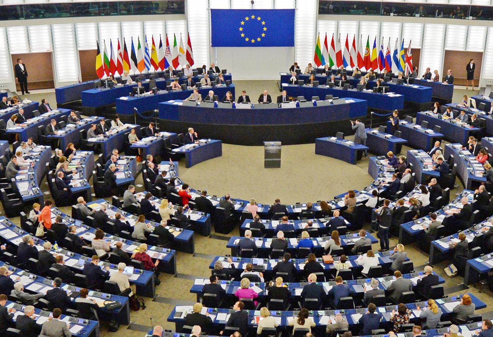 Bild zu EU-Parlament in Strassburg