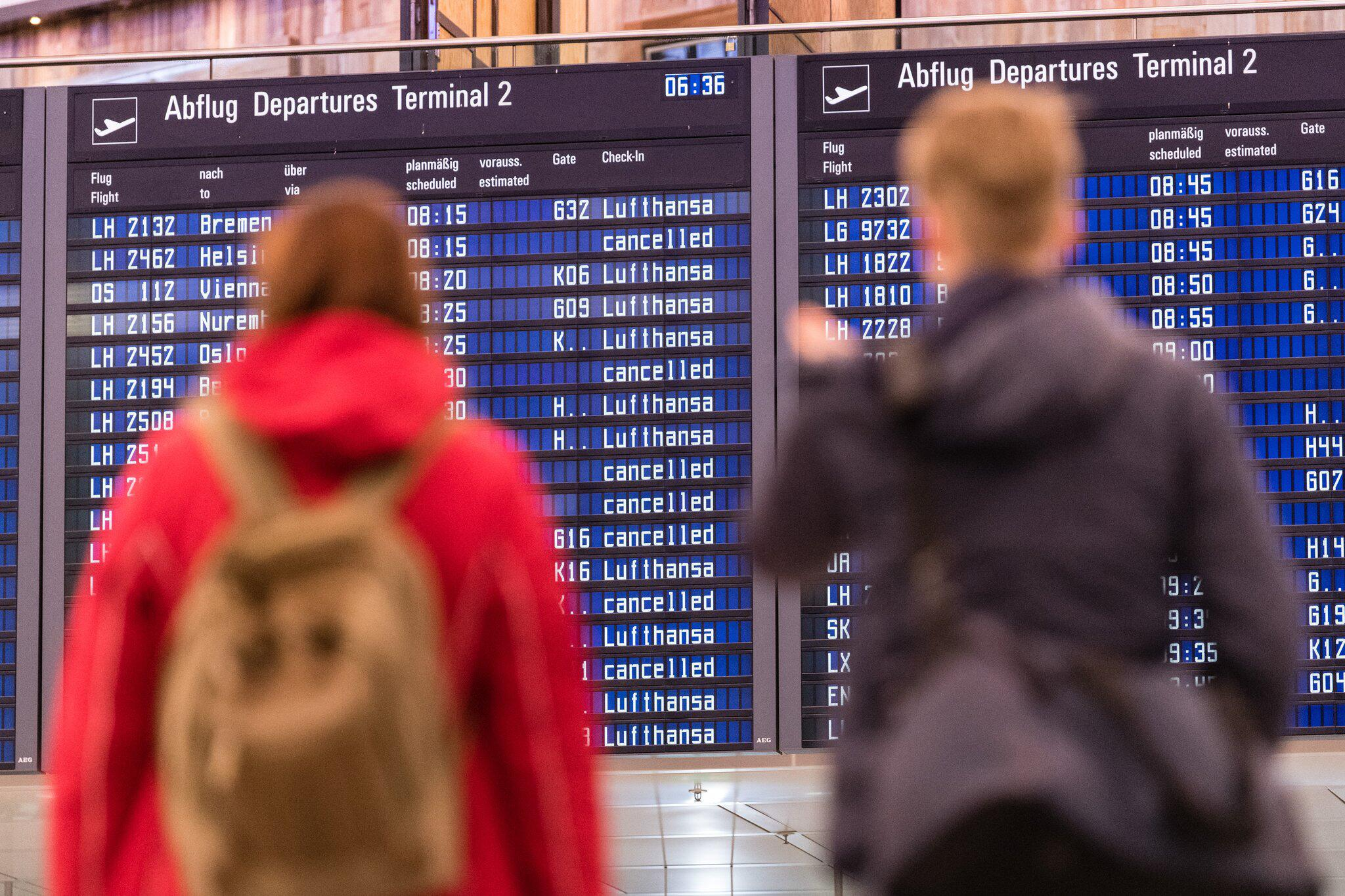 Bild zu Flight attendant strike at Lufthansa