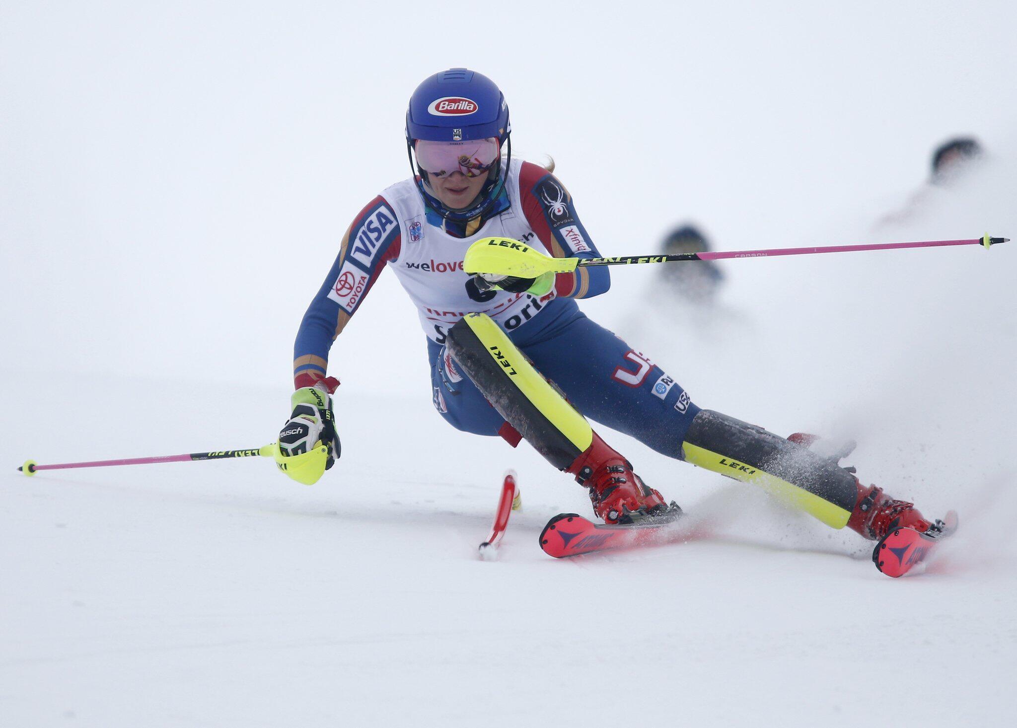 Bild zu Ski alpin - Weltcup Mikaela Shiffrin