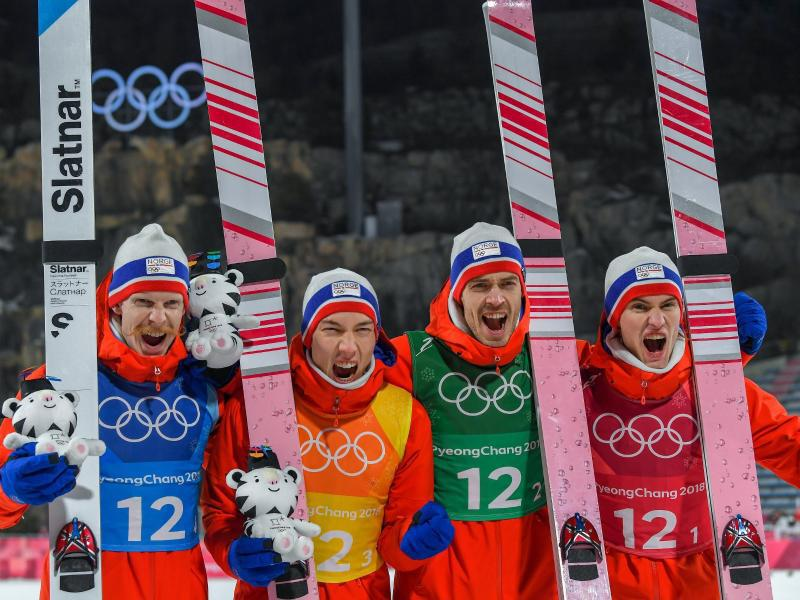 Bild zu Olympiasieger