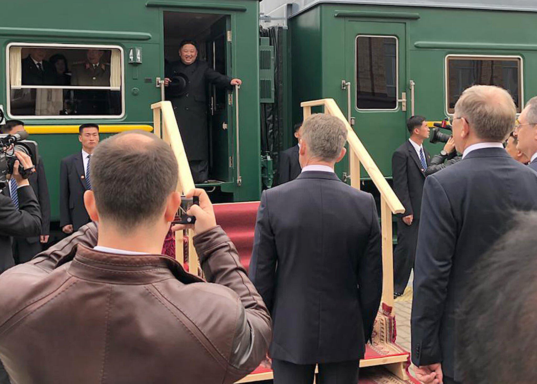 Bild zu Kim Jong Un auf dem Weg nach Russland