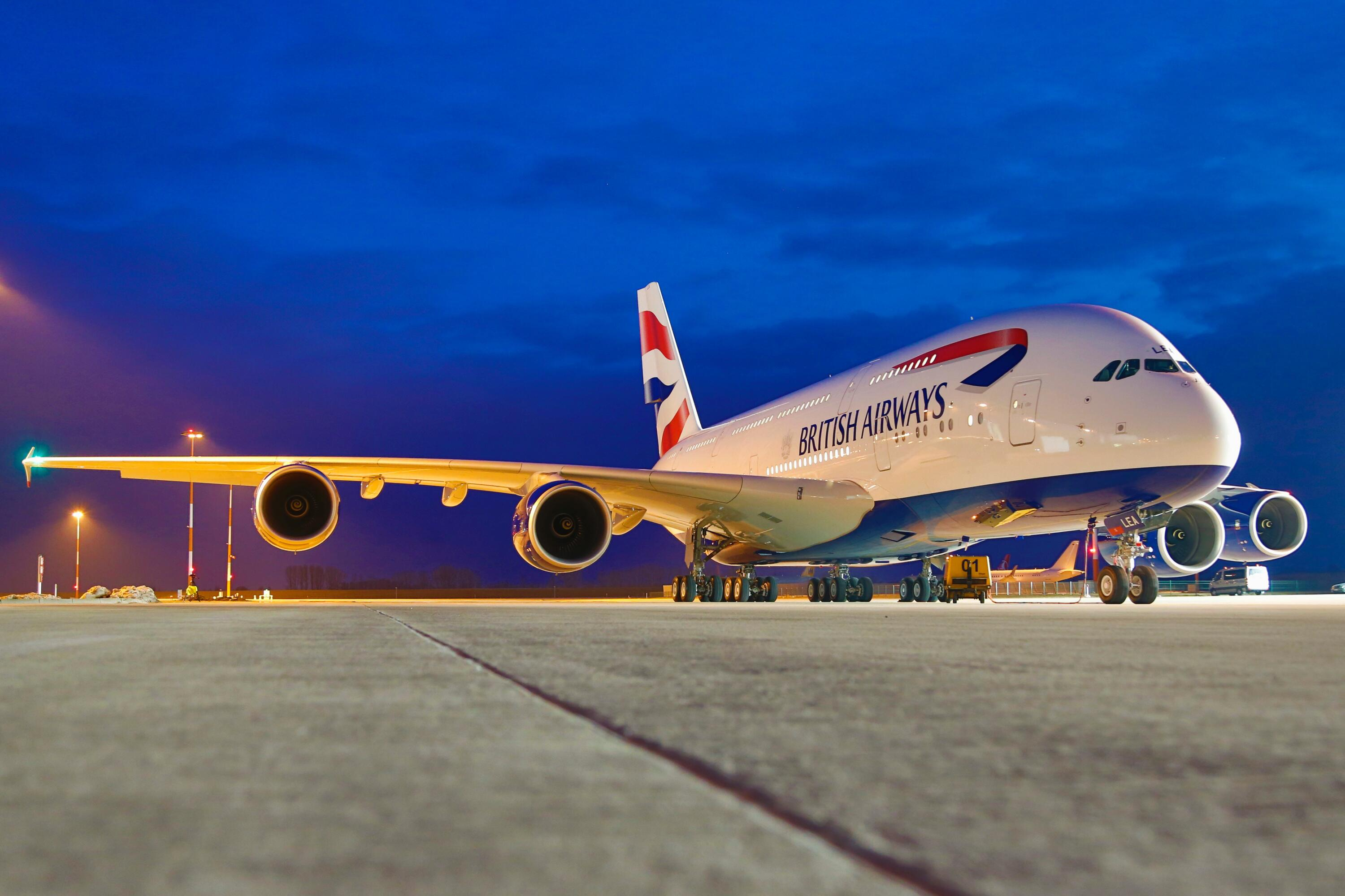 Bild zu Airbus A380 British Airways